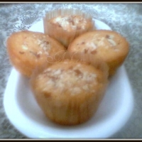 Image of Almond Cupcakes Recipe, Group Recipes