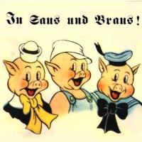 drei kleinen schweinchen