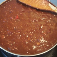 Image of Andrews Power-packed Vegan Chili Recipe, Group Recipes