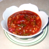 Easy Tomato Vegetable Soup Recipe