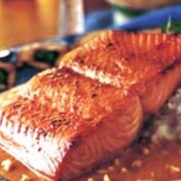 Image of Asian-grilled Wild Alaskan Salmon Recipe, Group Recipes