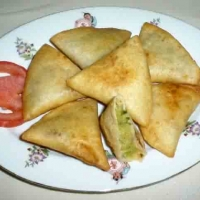 Image of A Different Vegetarian Potato Samosas Recipe, Group Recipes