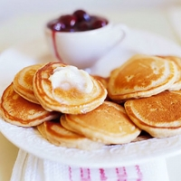 Image of Apple Butter Mini Hotcakes Recipe, Group Recipes