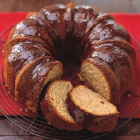 Image of Apple Spice Cake With Brown Sugar Glaze Recipe, Group Recipes