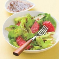 Image of Grapefruit And Avocado Salad With Ginger-cassis Dressing Recipe, Group Recipes