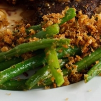 Green Beans With Parmesan Bread Crumbs Recipe