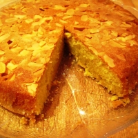 Image of Almond Ravani Cake Recipe, Group Recipes
