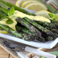 Image of Asparagus With Hollandaise Sauce Recipe, Group Recipes