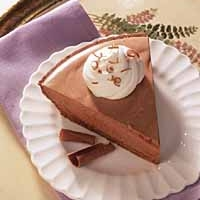 Chocolate Chiffon Pie Recipe