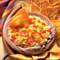 Image of Artichoke And Jack Dip With Pita Chips Recipe, Group Recipes