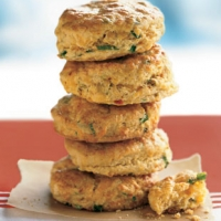 Cornmeal Biscuits With Cheddar And Chipotle Recipe