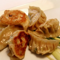Pork And Chive Dumplings With Dried Shrimp Recipe