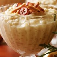 Image of Almond And Mascarpone Rice Pudding With Vanilla Recipe, Group Recipes