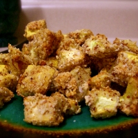 Image of Almond Crusted Yellow Squash Bites Recipe, Group Recipes