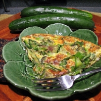 Image of Atkin's Zucchini Fritata Recipe, Group Recipes