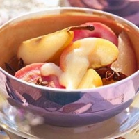 Image of Autumn Fruits With Cinnamon Custard Recipe, Group Recipes