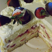 Image of Amjads Strawberry Shortcake Recipe, Group Recipes