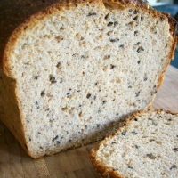 Image of Ali Baba Sesame Bread Recipe, Group Recipes