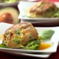 Image of Avocado Stuffed Crab Cakes Recipe, Group Recipes