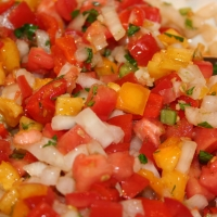 Image of Alteration To Chunky Garden Salsa Recipe, Group Recipes