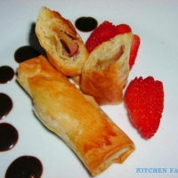 Image of Apple Caramel Turnover Recipe, Group Recipes