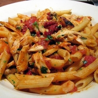 Recipe with penne pasta and chicken