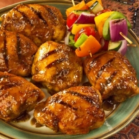 Image of Asian Grilled Chicken Recipe, Group Recipes