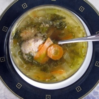 Turkey Meatball And Escarole Soup Recipe