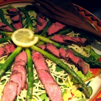 Image of Asian Roast Beef Salad Recipe, Group Recipes
