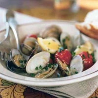 Image of Almejas Con Tomates - Clams With Cherry Tomatoes Recipe, Group Recipes
