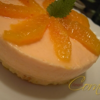 Blood Orange Mousse Cake Recipe
