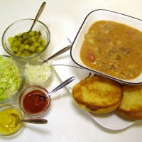 Image of All American Cheeseburger Soup Recipe, Group Recipes