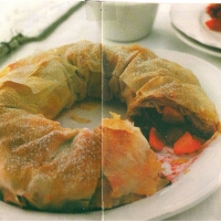 Image of Apple Strudel With Red Fruit Recipe, Group Recipes