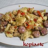 Image of Agioritiki Tigania Mixed Fried Meat Recipe, Group Recipes