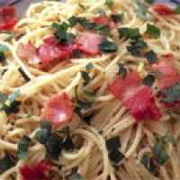 Image of Linguini Ala Foresta Recipe, Group Recipes