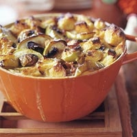 Image of Apple  Bacon And Leek Bread Pudding Recipe, Group Recipes