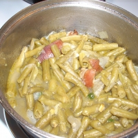 Southern Smothered Green Beans Recipe