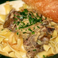 Image of Beefy Stroganoff Recipe, Group Recipes