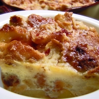 Image of Apple Cherry Bread Pudding Recipe, Group Recipes