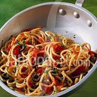 Mediterranean Shrimp Feta Pasta Recipe