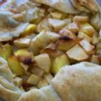 Image of Apple Peach And Pear Galette Recipe, Group Recipes