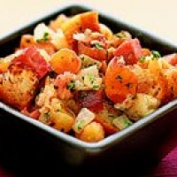 Image of Apricot And Black Forest Ham Stuffing Recipe, Group Recipes
