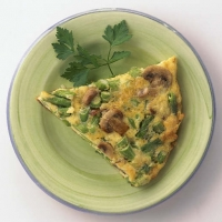 Image of Asparagus And Mushroom Frittata Recipe, Group Recipes