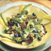 Image of Avacado And Blueberry Salad Recipe, Group Recipes