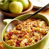 Image of Apple Cranberry Crisp Recipe, Group Recipes
