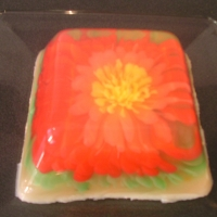 Image of Artistic Flower Jell-o Recipe, Group Recipes