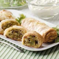 Image of Asparagus Strudel Recipe, Group Recipes