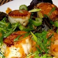 Sauted Scallops In Miso Sauce Recipe — Dishmaps