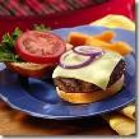 Image of All-american Barbq Cheeseburger E-mail Recipe I Got Recipe, Group Recipes