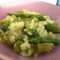 Image of Asparagus Risotto Recipe, Group Recipes